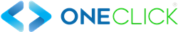 Nuevo logo One Click horizontal